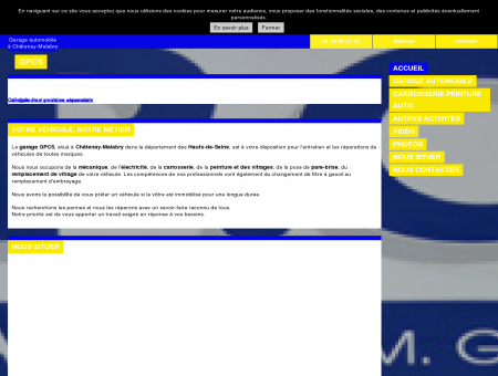 GPCS à Châtenay-Malabry (92)