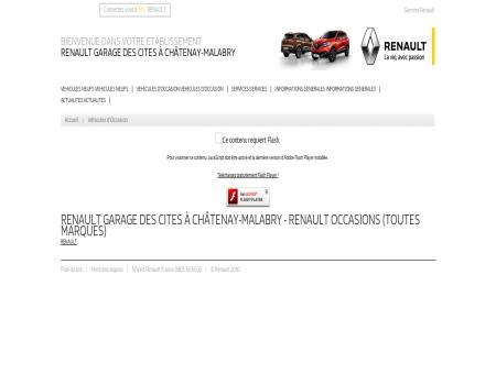 Véhicules d'occasion - RENAULT GARAGE DES...