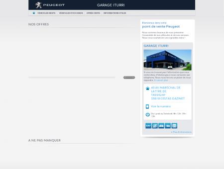GARAGE ITURRI, Votre point de vente Peugeot