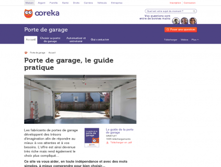 Porte de garage - Ooreka