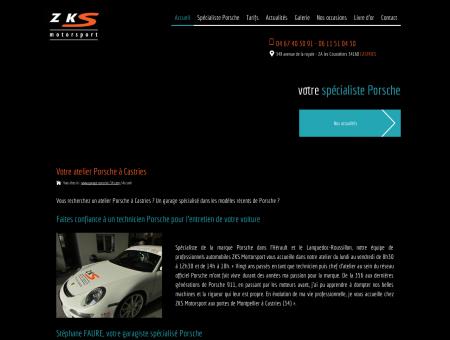 Atelier Porsche Castries : garage - ZKS...