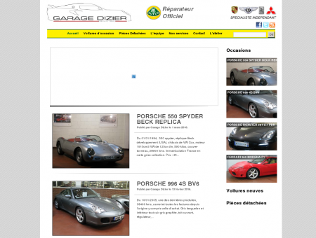 Garage Dizier Lotus Paris | Garage Dizier...