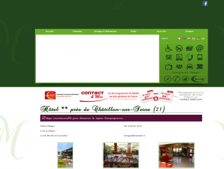 Hotel Chatillon sur Seine - CONTACT HOTEL /...