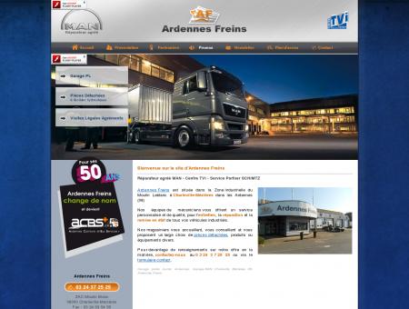 Garage poids lourds Ardennes. Garage MAN...