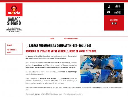 Garage automobile à Dommartin-lès-Toul (54)