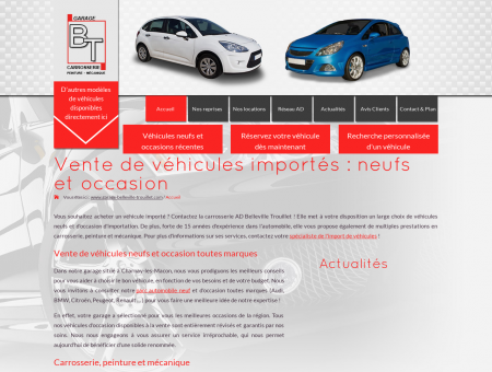 Vente véhicules importés : véhicules neufs...