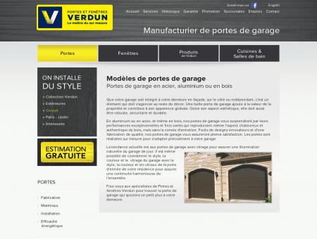 Portes de Garage Acier Aluminium Bois CEDO |...