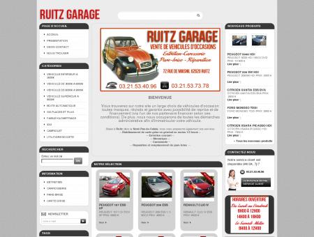 RUITZ GARAGE, vehicule occasion, voiture pas...