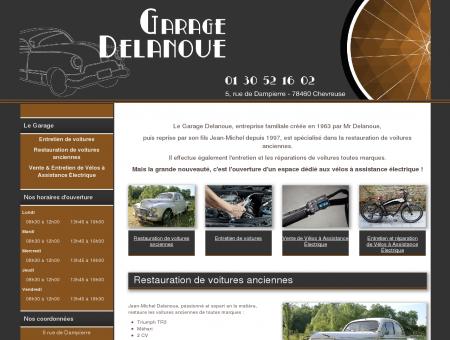 Le Garage Delanoue à Chevreuse - Vente et...