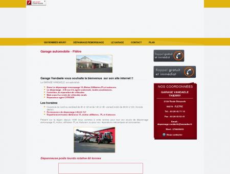 Depannage Armentieres - GARAGE VANDAELE...