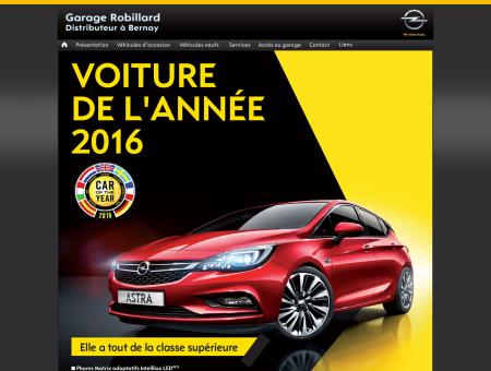 Garage Robillard distributeur Opel bernay eure...