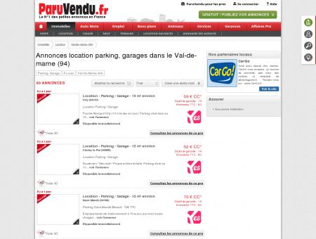 Location parking, garage Val-de-marne (94) :...
