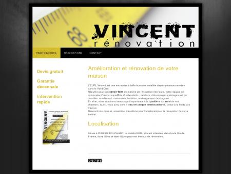 Vincent Rénovation - Page d'accueil