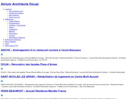 Renovation Archives - Atrium Architecte Douai