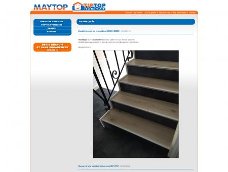 Maytop - Tiptop Habitat - Habillage d'escalier ...