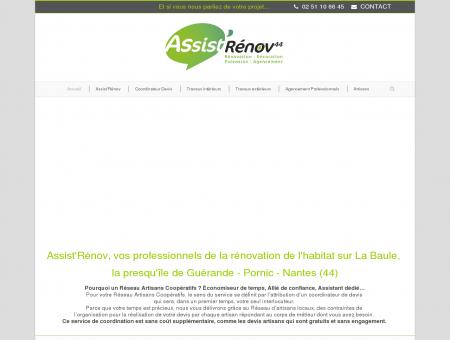 Rénovation Habitat 44 La Baule, Guérande,...