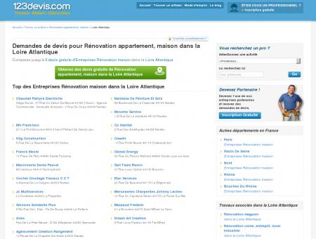 Rénovation maison Loire Atlantique (44) ,...