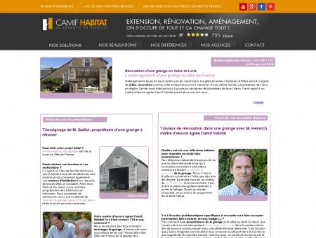 Aménagement d'une grange et rénovation en...