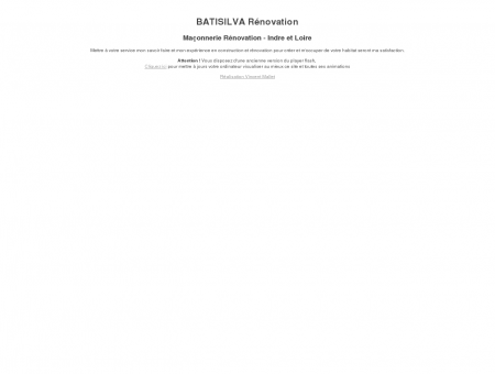 BATISILVA - Maçonnerie Rénovation - Indre et...
