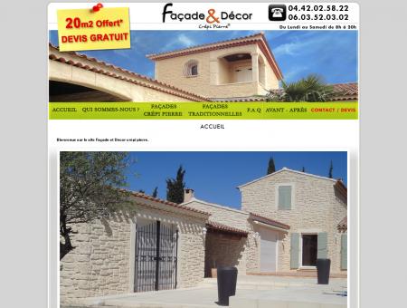 Rénovation façade en Provence-Alpes-Côte...
