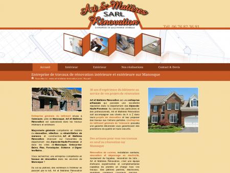 Rénovation de façade Alpes-de-Haute...