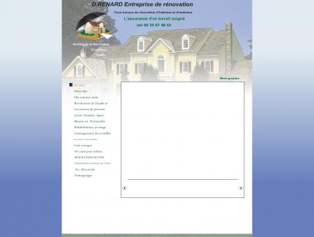D.RENARD Entreprise de rénovation - Accueil