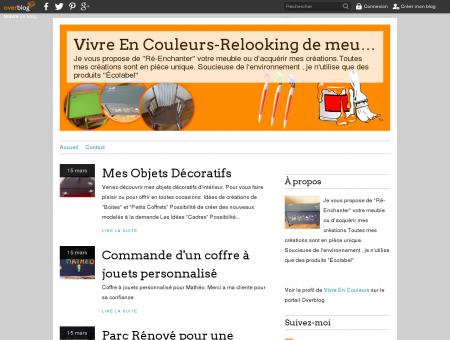 Vivre En Couleurs : Rènovation Relooking De...