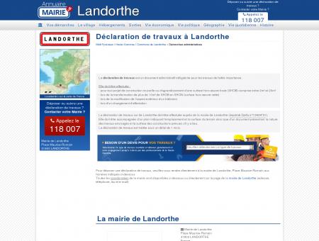 renovation landorthe