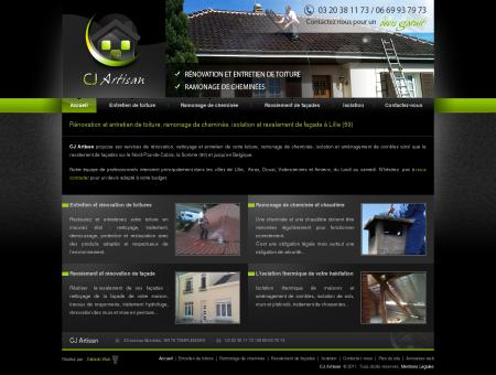 Entretien rénovation toiture, ramonage...