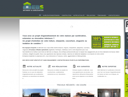 EBS Surélévation : Extension, surélévation et ...