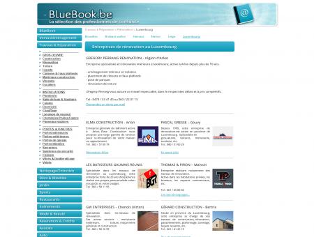 Travaux de rénovation - Luxembourg, Arlon,...