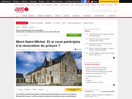 Mont-Saint-Michel. Et si vous participiez à la ...