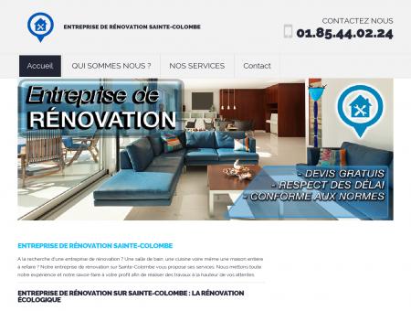 Entreprise de Rénovation Sainte-Colombe :...