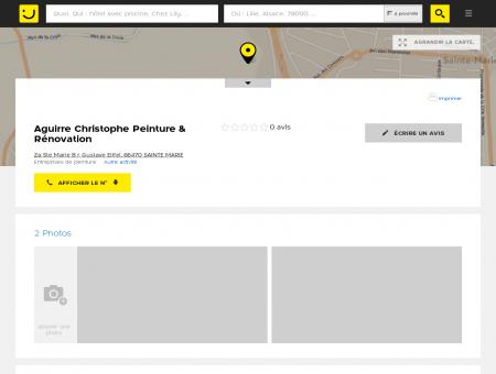 Aguirre Christophe Peinture & Rénovation...