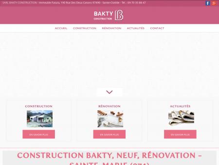 Construction neuve, rénovation - Sainte...