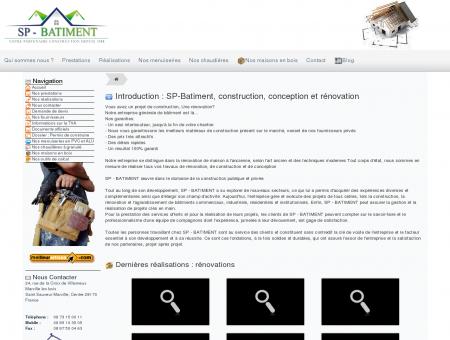 SP-Bâtiment : Construction, Agrandissement et...