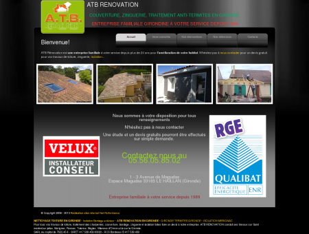 ATB Renovation Isolation toitures, couverture,...