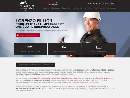Rénovations Lorenzo Fillion - Rénovation...