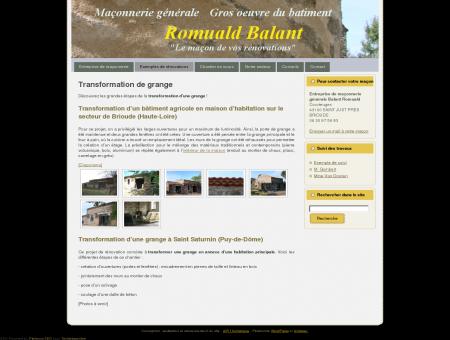 Rénovation - Transformation de grange :...