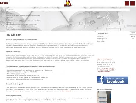 JD Elec28 - entreprise d'électricité en Eure-et...