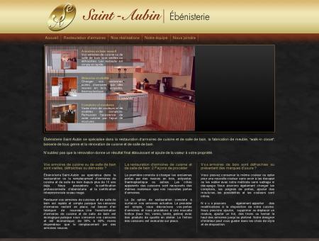 Ébénisterie Saint-Aubin restauration...