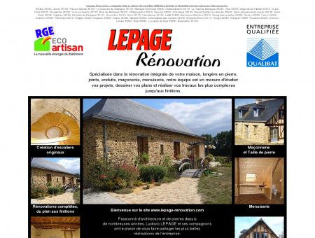 Rénovation maison longère pierre joints...