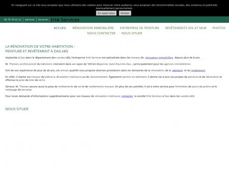 Rénovation immobilière - Erté Services à Dax -...
