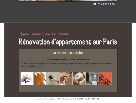 Rénovation d'appartement Paris