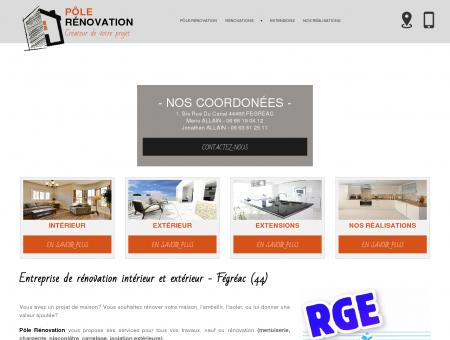 Menuisier, charpentier - Fégréac | Pôle rénovation