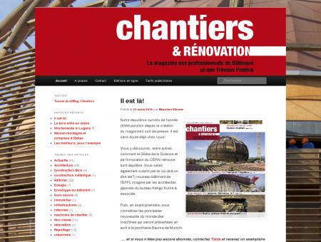 Chantiers & Rénovation | Le magazine des...