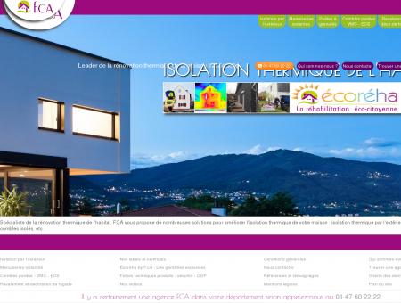 FCA Isolation thermique et énergétique de...
