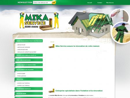 Rénovation de maison à Saint Quentin dans...