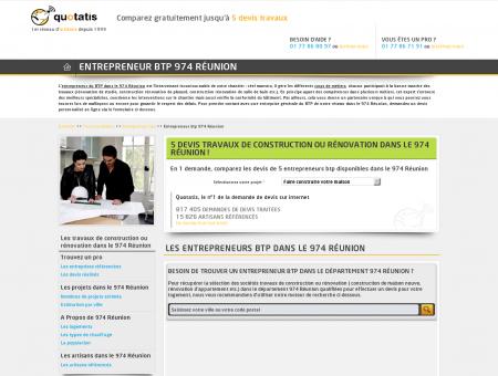 Entrepreneur btp 974, Entreprise travaux de...