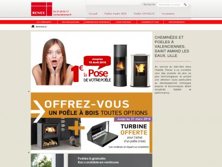 Cheminées et poeles à Valenciennes, Saint...